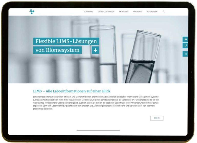 Laborsoftware Blomesystem